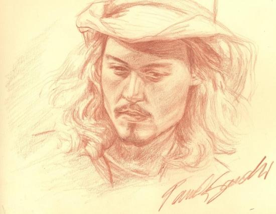 Johnny Depp par pamelasea